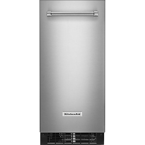 15-inch Automatic 25 lb. Ice Maker in PrintShield Stainless Steel