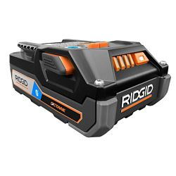 RIDGID Batterie lithium-ion 18V 3.0 Ah Hyper Octane Bluetooth Batterie Bluetooth