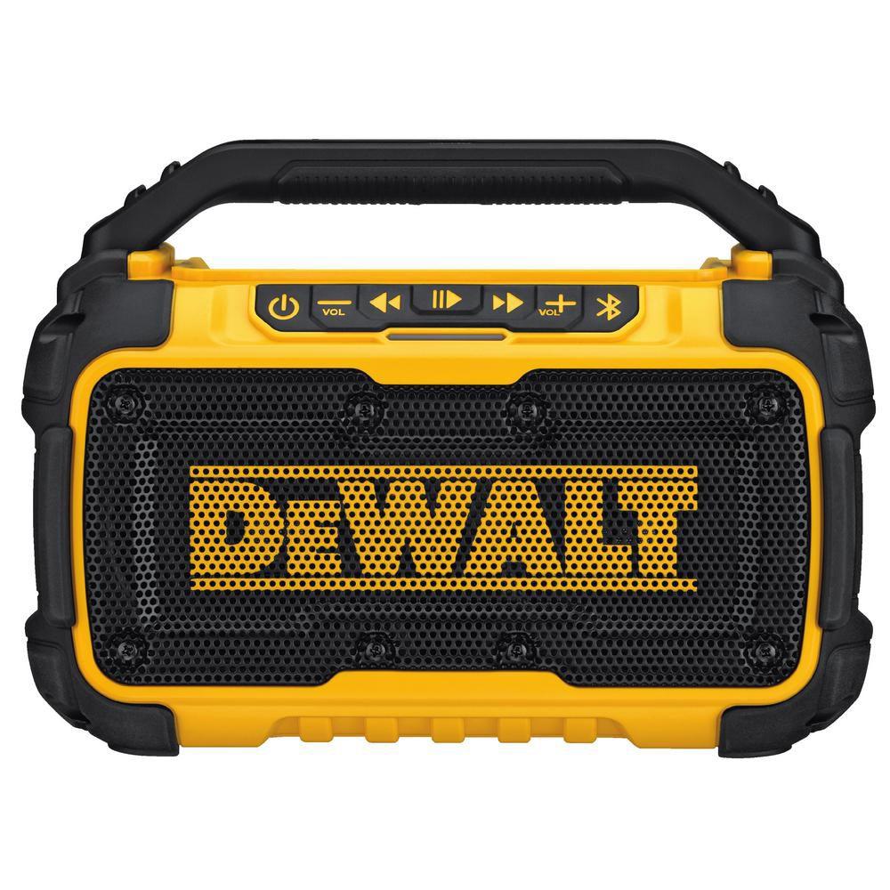 DEWALT 12V/20V MAX Worksite Bluetooth Speaker