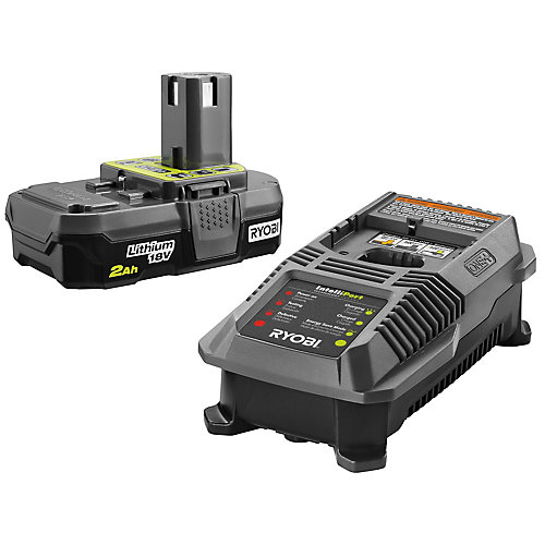 18V ONE+ Lithium-Ion 2.0 Ah Compact Battery and Charger Starter Kit