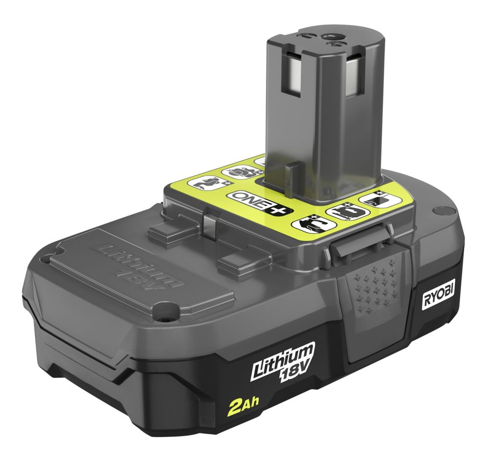 Ryobi P190 18V ONE+ 2.0Ah Compact Lithium-Ion Battery Pack