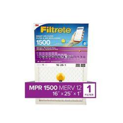 Filtrete Filters 16-inch x 25-inch x 1-inch Ultra Smart Air Filter