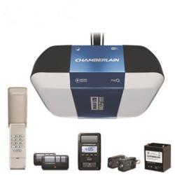 Chamberlain Ouvre-porte Smart Garage avec éclairage Corner to Corner et connectivité par appli myQ, 1,25 ch