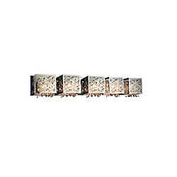 Eternity 39 inch 4 Light Wall Sconce with Chrome Finish