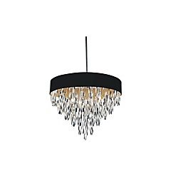 Excel 23-inch 8 Light Chandelier with Chrome Finish