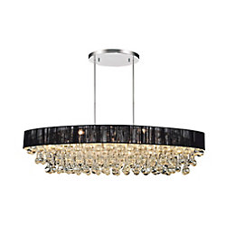 Atlantic 30-inch 6 Light Chandelier with Chrome Finish