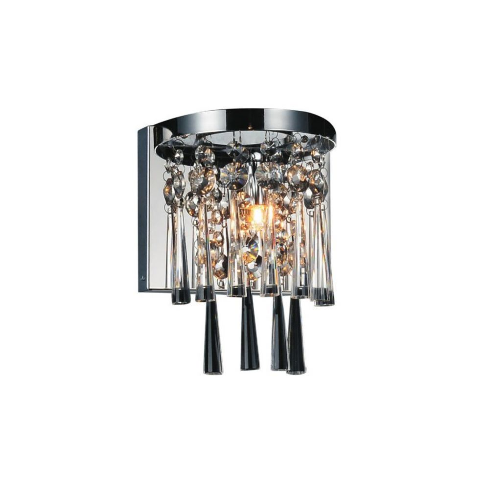 Blissful 6 inch 1 Light Wall Sconce with Chrome Finish