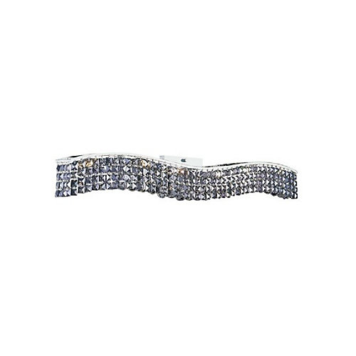 Glamorous 5 inch 7 Light Wall Sconce with Chrome Finish