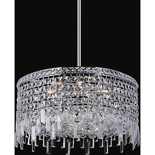 Colosseum 20 inch 8 Light Chandelier with Chrome Finish