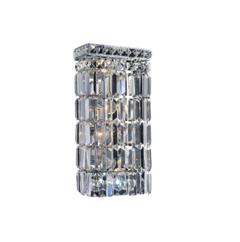 Colosseum 5 inch 4 Light Sconce with Chrome Finish