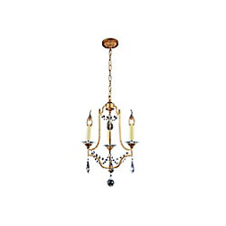 Electra 13 inch 3 Light Mini Pendant with Oxidized Bronze Finish