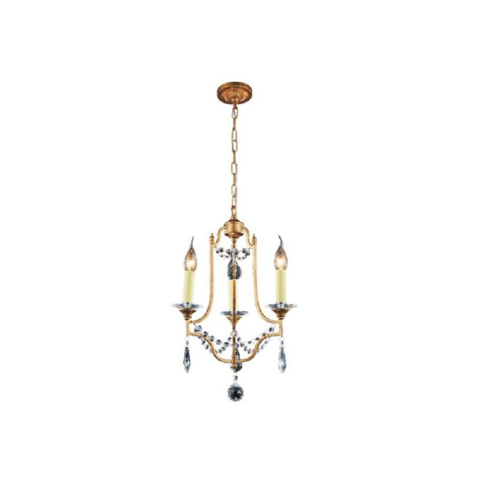CWI Lighting Electra 13 inch 3 Light Mini Pendant with Oxidized Bronze Finish
