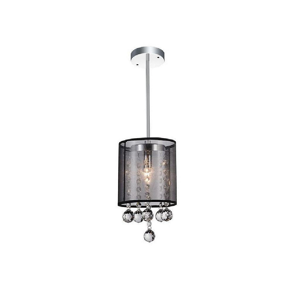6 pouce Radiant 1-Lumière Mini Lustre avec Fini chromé