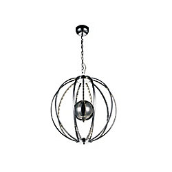Jacquimo 22 inch LED Chandelier with Chrome Finish