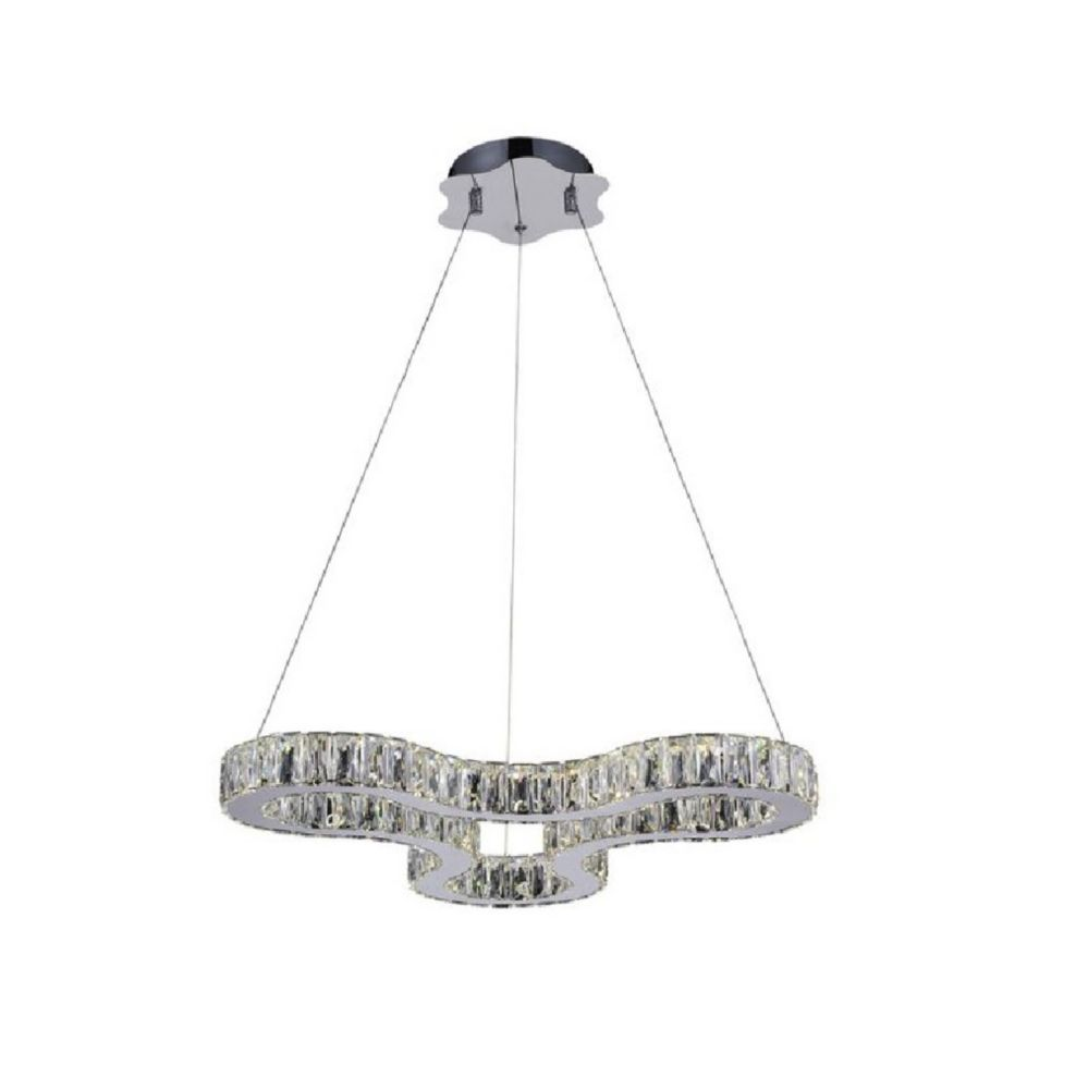Odessa 23 inch LED Chandelier with Chrome Finish
