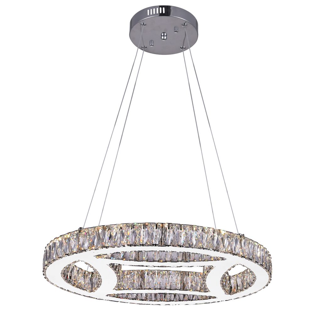 Beyond 20 inch LED Chandelier with Chrome Finish