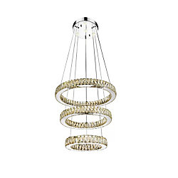 Florence 20 inch LED Chandelier with Chrome Finish