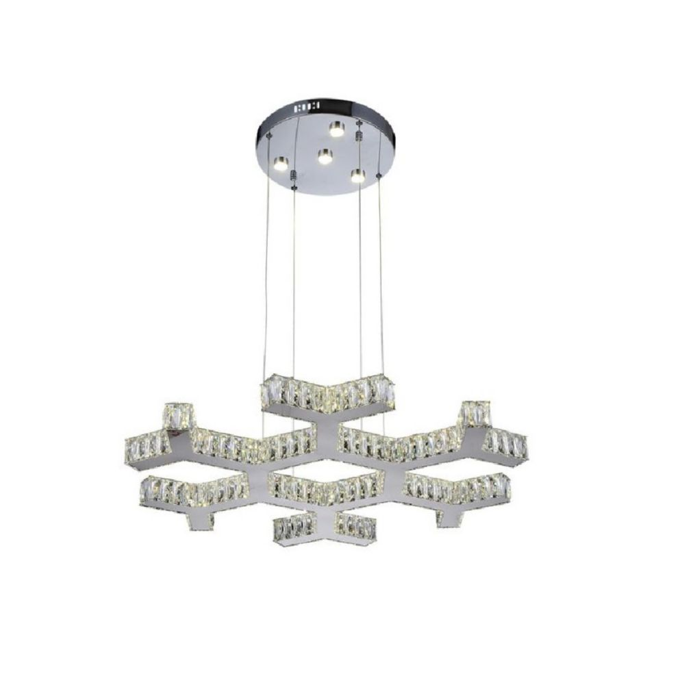 Arendelle 30 inch LED Chandelier with Chrome Finish