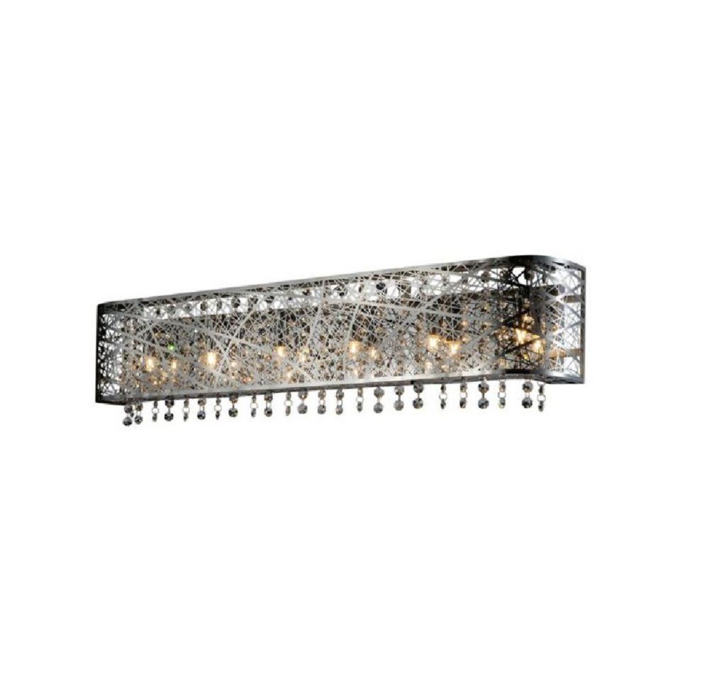 Eternity 5 inch 4 Light Wall Sconce with Chrome Finish