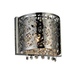 CWI Lighting Eternity 4 inch Single Light Wall Sconce with Chrome Finish