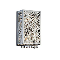 Eternity 4 inch 1 Light Wall Sconce with Chrome Finish