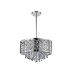 Galant 23 inch 8 Light Chandelier with Chrome Finish