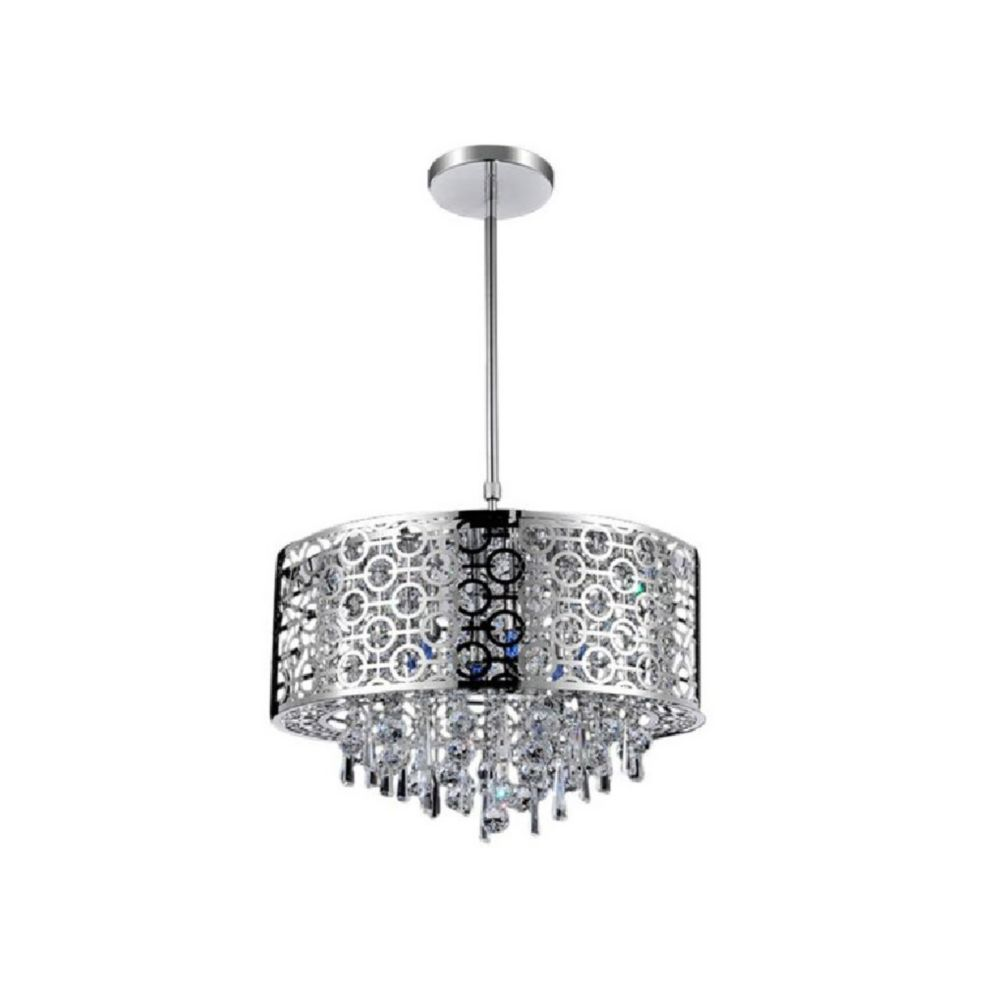 CWI Lighting Galant 23 inch 8 Light Chandelier with Chrome Finish