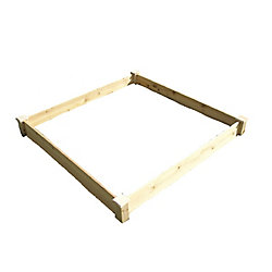 Eden Quick Assembly Raised Garden Bed (4 ft. X 4 ft. X 5.5 inch)