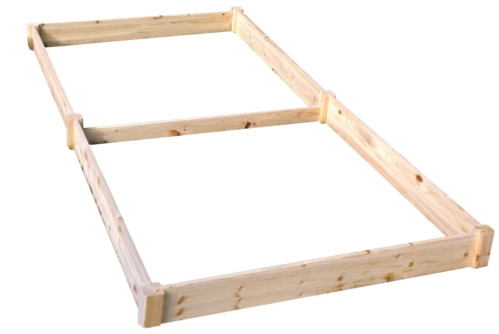 Eden Quick Assembly Raised Garden Bed (4 ft. X 8 ft. X 5.5 inch)