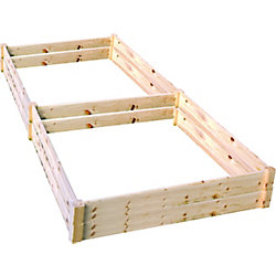 Eden Quick Assembly Raised Garden Bed (4 ft. X 8 ft. X 11 inch)