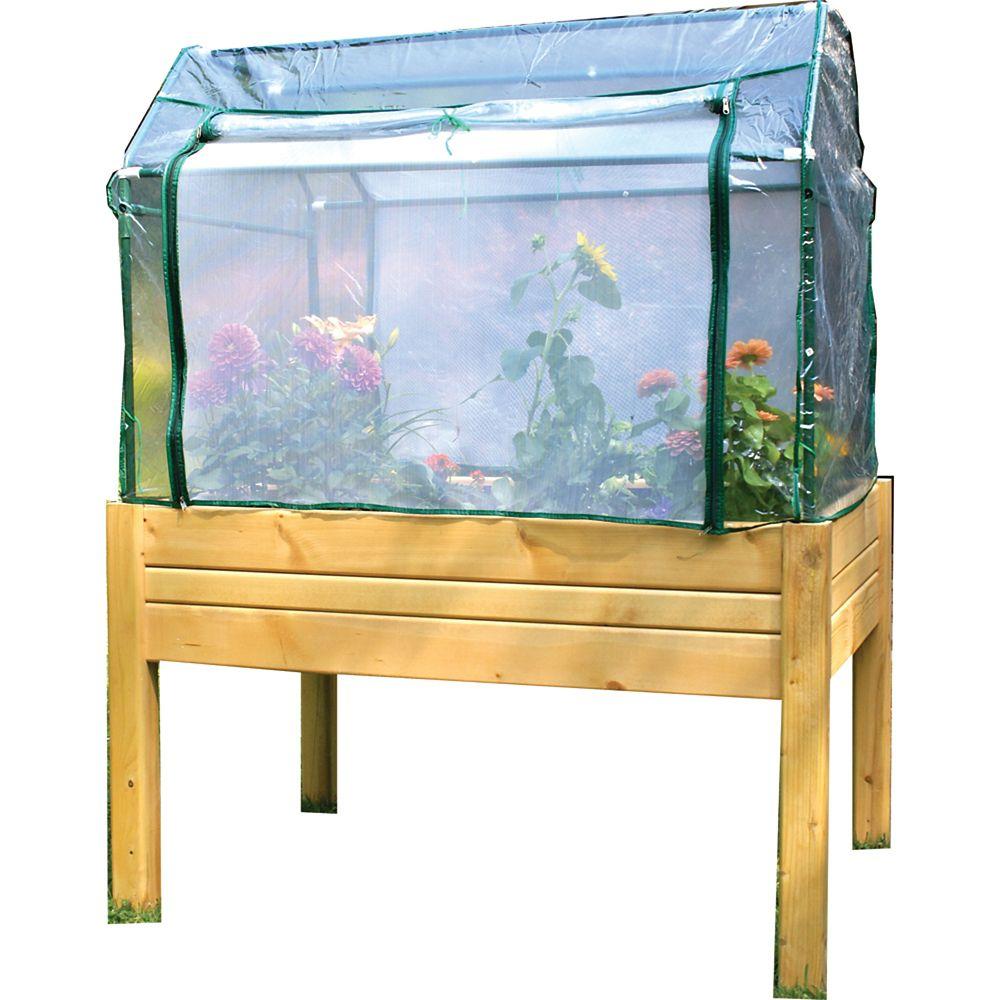 Raised Garden Table With Optional Enclosure (Medium)