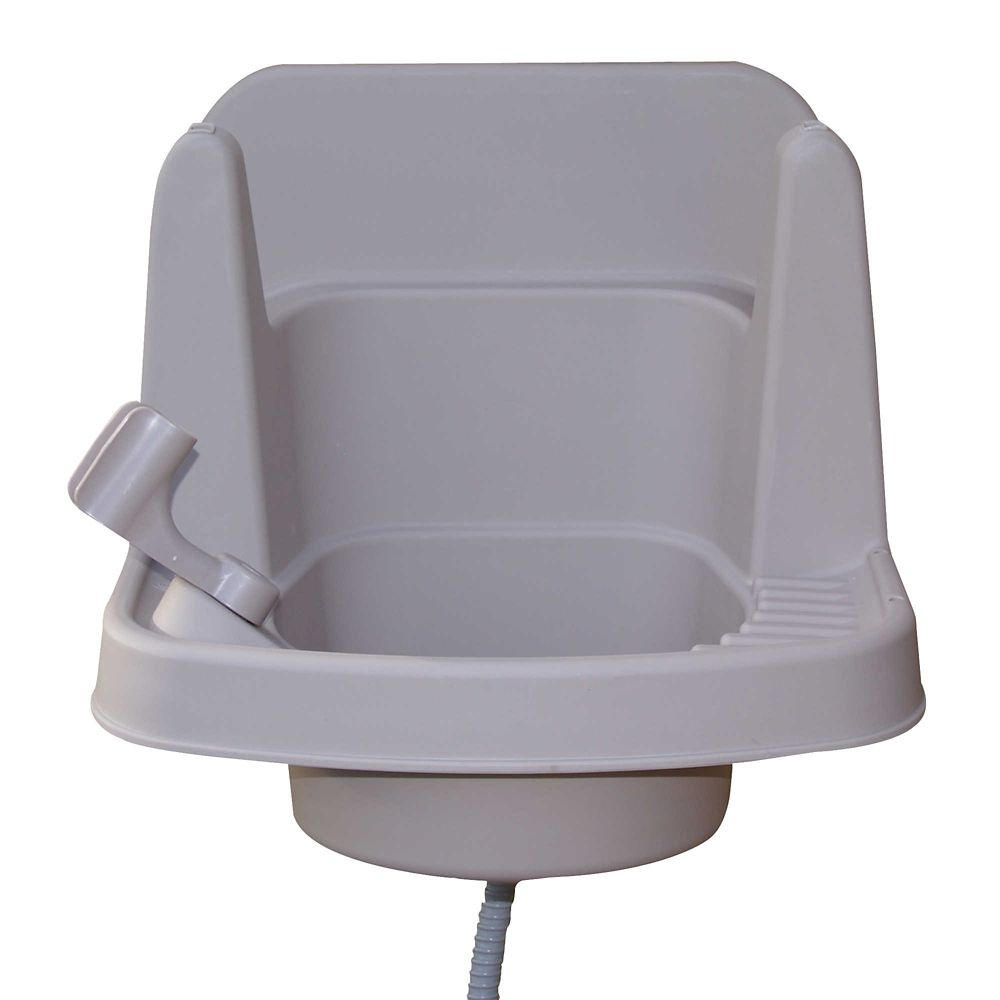 CleanIT Riverstone Outdoor Sink
