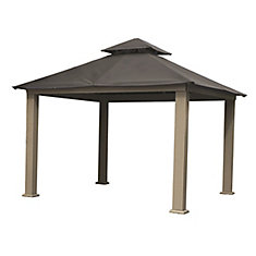 12 ft. Sq. Gazebo -Storm Gray