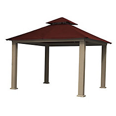 12 ft. Sq. Gazebo -Maroon