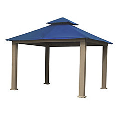 12 ft. Sq. Gazebo -Cobalt Blue