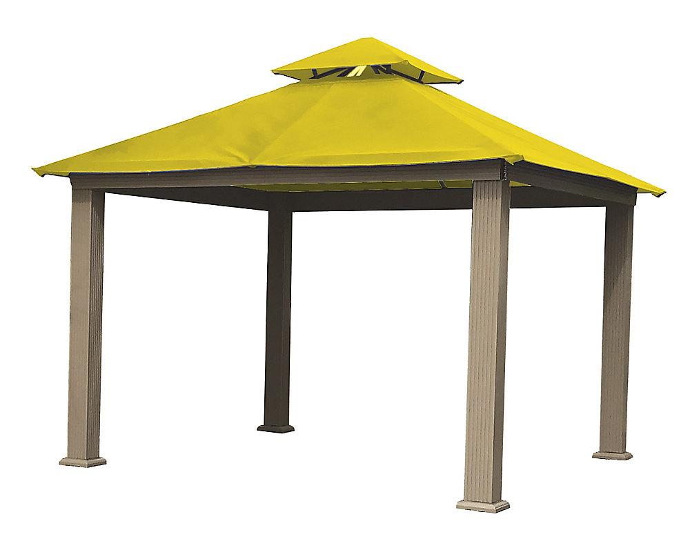 12 ft. Sq. Gazebo -Yellow