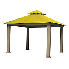 12 ft. Sq. Gazebo -Yellow