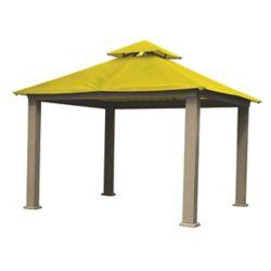 ACACIA 12 ft. Sq. Gazebo -Yellow