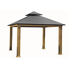 14 ft. Sq. Gazebo -Storm Gray