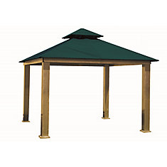 14 ft. Sq. Gazebo -Teal