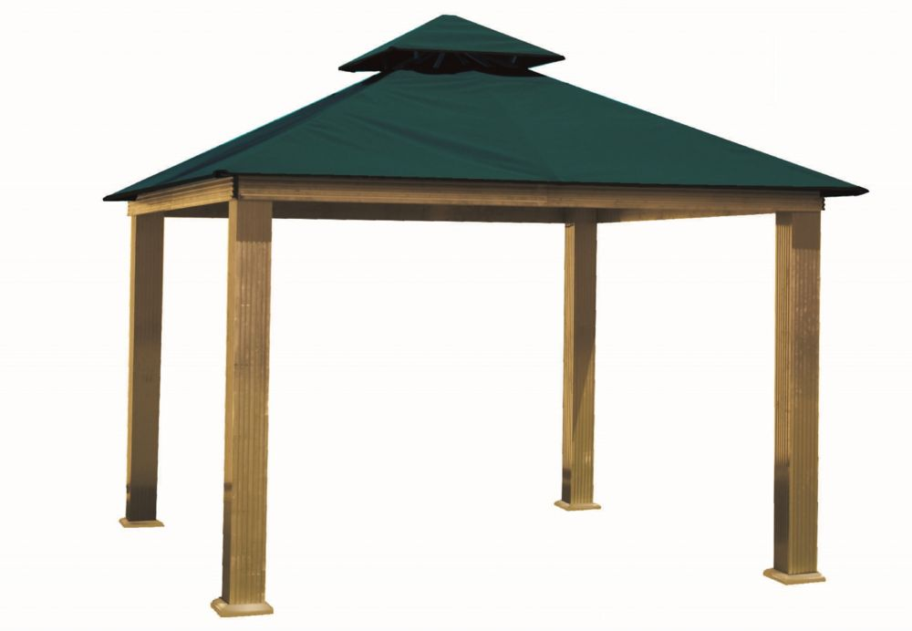 ACACIA 14 ft. Sq. Gazebo -Teal