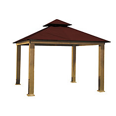 14 ft. Sq. Gazebo -Maroon