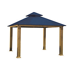 14 ft. Sq. Gazebo -Cobalt Blue