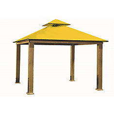 14 ft. Sq. Gazebo -Yellow