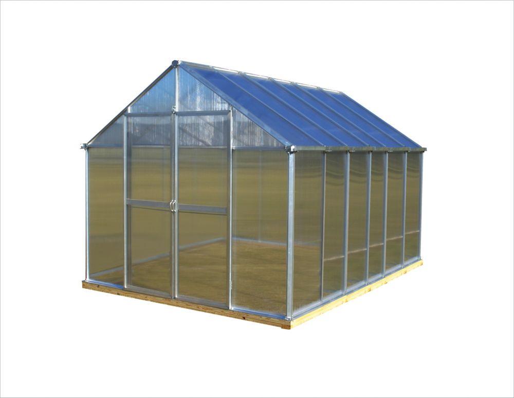 8 ft. X 12 ft. Aluminum Greenhouse