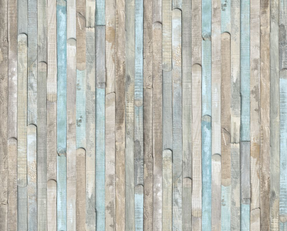 D-C-Fix 346-0644 Home Décor Self Adhesive Décor 17-inch x 78-inch Beach Wood - 2 Pack