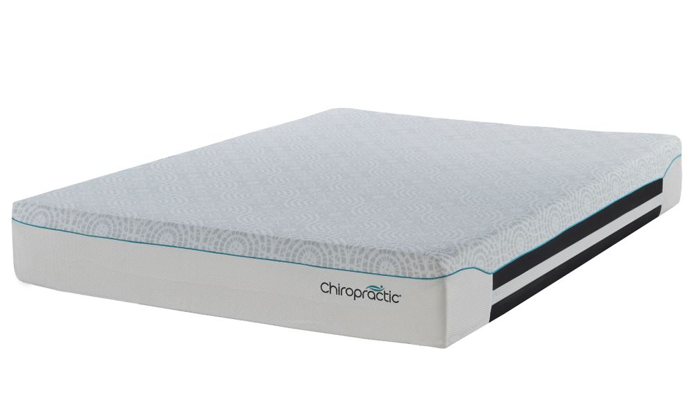 Chiropractic Form Pocket Coil 12-inch Twin Mattress