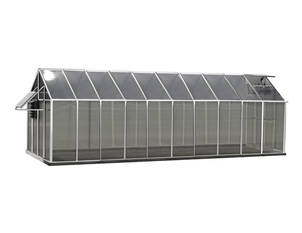 Greenhouse 8 ft. X 20 ft. Aluminum Greenhouse - Mojave Edition