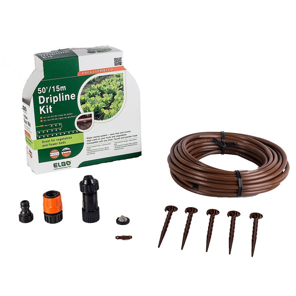 50 ft. Dripper Hose Watering System