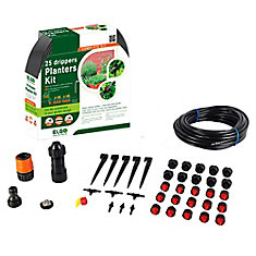 Customizable 33 ft. Planter/ Container Dripper Kit